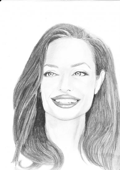 Angelina Jolie by sandrine71